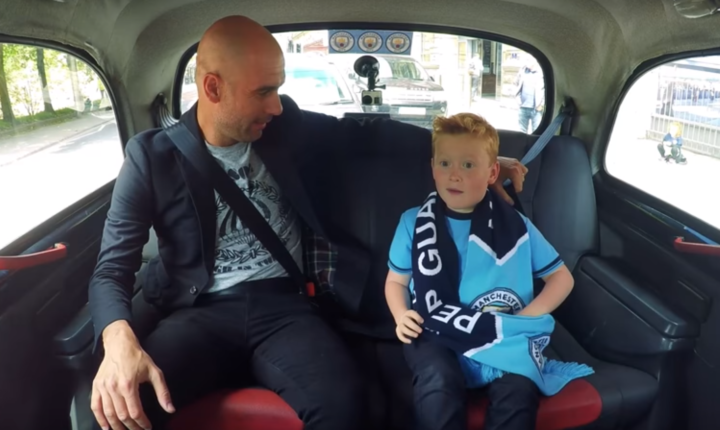 Video : Jeune supporter qui rencontre Pep Guardiola réalise son rêve