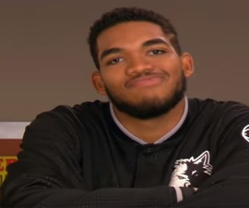 Karl-Anthony Towns debuta como actor en televisión